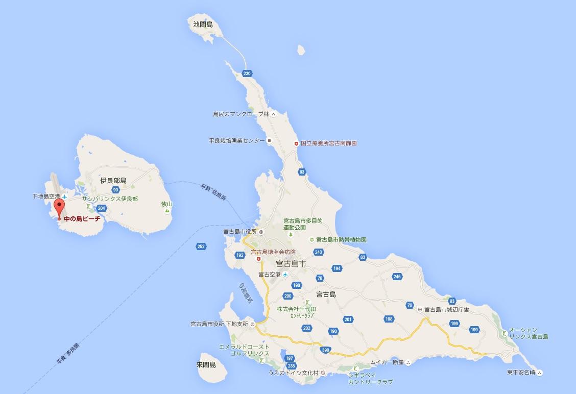 kyafa beach map